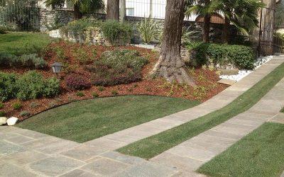 Pacciamature in giardino, i materiali